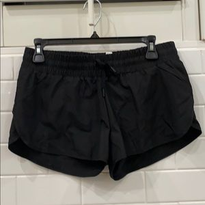 Lorna Jane black run workout shorts NWT